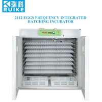 automatic poultry eggs frequency integrated incubator