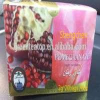 famous and taste Natural Herbal Pomegranate Tea 2g *20 bags Organic Green Tea Pomegranate 2g*20 Tea Bags