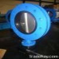 U type flanged butterfly valve Manufacturer