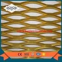 flattened hexagonal aluminum expanded metal mesh Manufacturer
