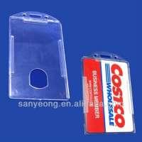 Slight plastic ID credit card holderPHV10 Manufacturer