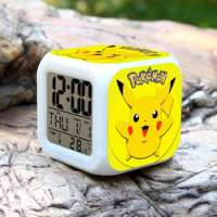 Pokemon Ball LED Clock Pikachu Desk Clock Pokemon Go Alarm Clock 50 Different Styles