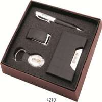 Corporate Gift Set of Pen drive Card Holder Pen & Keychain Business Gift