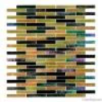 strip stained glass mosaic use palace and private house decoration Manufacturer