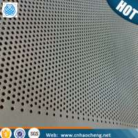 stainless steel perforated plate decoration