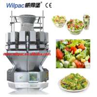 Salad weighing machine granule food 10 heads multihead weigher Manufacturer