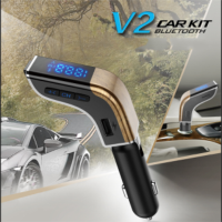 LUTU V2 wireless user manual LUTU car MP3 player FM Transmitter bluetooth usb charger  Manufacturer
