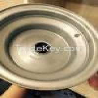 8x5375 silver atv wheel garden wheel rim Manufacturer