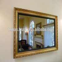 """48"""" Magic Mirror TV - With Decorative Wooden Frame"""