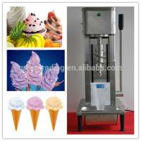 ice cream mixer machine fruit soft ice creamice cream blender machine Manufacturer