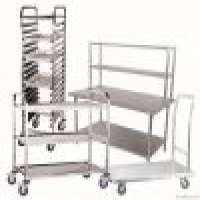 Stainless Steel Trolley Service Cart Trolley Restaurant Funiture Manufacturer