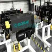 Clescrane 10t 20t electric wire rope hoist crane Manufacturer