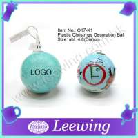 Christmas Tree Decoration Plastic Ball Manufacturer
