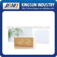 wooden desktop decorative clocks