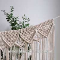 Macrame BannerBunting Garland Wreath Christmas home decor Manufacturer