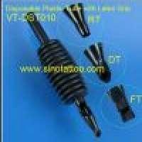 Disposable Black Plastic Tubes OLIVE Latex Grips Manufacturer
