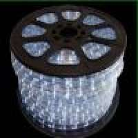 round 2wre led rope light alloy wire