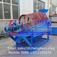 Small investment mining rotary screen equipment Mobile: 008613213105574 Manufacturer