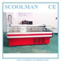 Open Fresh Meat Cooler Commercial Refrigerator Manufacturer