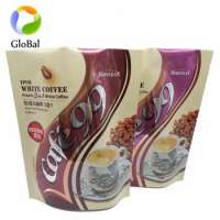 Printed ziplock pouch plastic bags baby powdered milk whey protein packaging Manufacturer