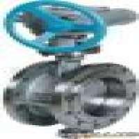 Marine worm gear butterfly valve flange type Manufacturer