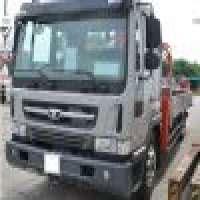 Used GM Daewoo Novus 5Ton Cargo Crane Truck Manufacturer