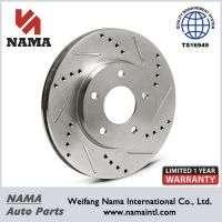 Performance Brake Disc Drilled &ampamp Slotted Manufacturer