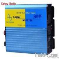 500w dc to ac pure sine wave car power inverter Manufacturer