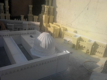 Masjid Nabwi Model with Thermocol