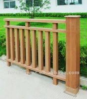 High tensile strength great wpc wood railing