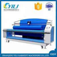 fabric winding machine equipment small factory price rolling machine for textile rolling machine for textile Manufacturer