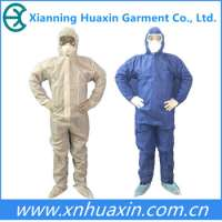 lightweight disposable nonwoven coverall Manufacturer