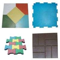 Newco recycled rubber floor tiles Manufacturer