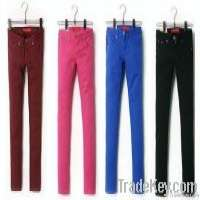 Colorful women trousers 21 colors Manufacturer