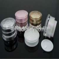 Waspwaisted plastic acrylic cosmetic pump bottles container Manufacturer