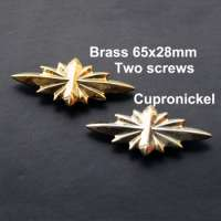 NA035 48x22mm65x28mm Conchos Headstalls Star of Hope Manufacturer