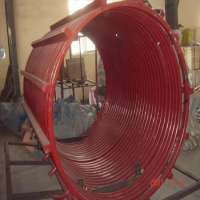 Medium Frequency Induction Loop Furnace 12 tons Manufacturer