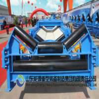Industrial belt conveyor design and