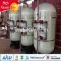FRP vertical sand filter vessel carbon filters ion exchange Manufacturer