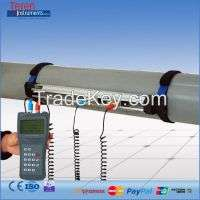 Portable Handheld Ultrasonic Water Flow Meter Flow Measuring Instruments Manufacturer