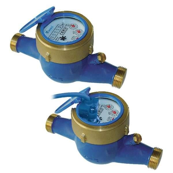 DN15 Multi-Jet Dry Dial Water Meter