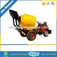 concrete mixer mini truck