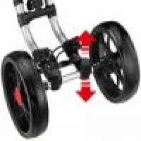 CaddyTek OneClick Folding 4 Wheel Version 3 Golf Push Cart Manufacturer