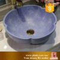 Ceramic blue countertop hand wash basin  Manufacturer