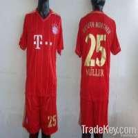 1112 Bayern away red soccer uniform soccer jersey Manufacturer