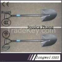 Long Fiberglass Handle Steel Shovel Manufacturer