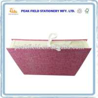 Office Stationery Items Ribbon Closure 6 Pockets Paper Accordion File Folder