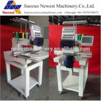 15 colors 15 needles computer embroidery machine1 head flat embroidery machine