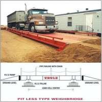 Pitless Type Weighbridge Manufacturer