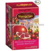 Natural Herbal Pomegranate Tea 2g *20 bags box Natural Herbal Pomegranate Tea